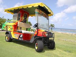 Four Seasons Resort Nevis Kool Rummings Rum Cart