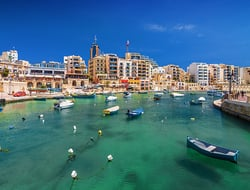 Saint Julian, Malta - Neonyn/iStock/Getty Images Plus/Getty Images