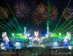 EDC Las Vegas 2017 Kinetic Field stage