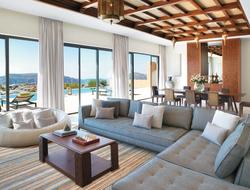 Anantara Al Jabal Al Akhdar's Three Bedroom Royal Mountain Villa is a two-story complex sprawling over more than 7,500 square feet.