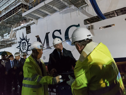 MSC Seaside Float Out Ceremony