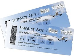 NYC airline ticket- France68/iStock/Getty Images Plus/Getty Images
