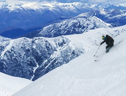 Skiing in Chile
