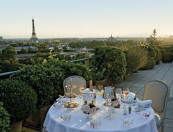 Le Meurice Belle Etoile Diner romantique