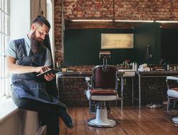 Barbershop Stock Photo