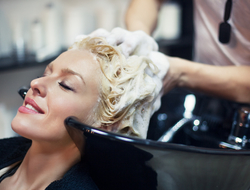 Hair treatment getty photo
