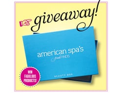 American Spa's Fresh Finds Beauty Box