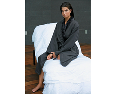 Microfiber ShimmerLined Robe