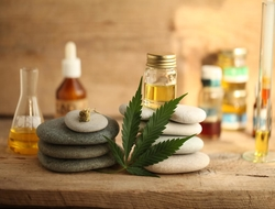 Image of CBD oil // Photo credit: iStock / Getty Images Plus / OlegMalyshev