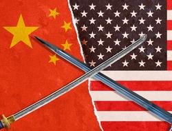 trade war sword