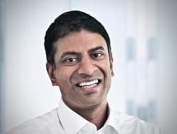 Novartis CEO Vas Narasimhan 2019