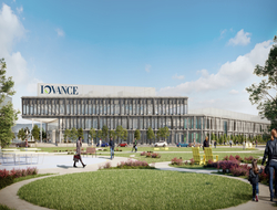 Rendering of Iovance Biotherapeutics cell therapy facility