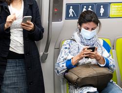 Coronavirus Subway Train