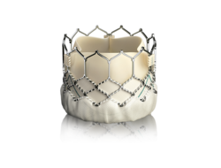 Sapien 3 TAVR device on white background