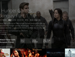 Amazon Prime Video shown on its Fire TV interface.