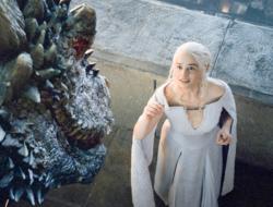 Game of Thrones - Emilia Clarke. Image courtesy of HBO