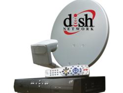 Dish Network dish and set-top