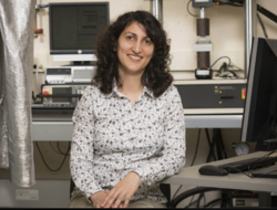 Associate Professor Shahrzad (Sherry) Towfighian from the Thomas J. Watson School of Engineering and Applied Sciences' Department of Mechanical Engineering
