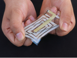 Stanford University wearable stick-on sensor