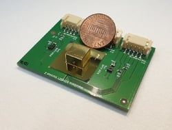 Metamaterial optical gas sensor