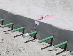 Purdue U embeds sensors into concrete