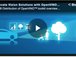 Intel Distribution of OpenVINO  toolkit,