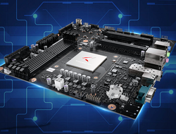Huawei could be expanding to the desktop PC market with a motherboard that uses an Arm processor.