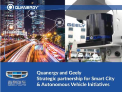 Geely teams with Chinese LiDAR company on smart cities