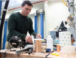 Penn State student develops gas turbine sensors