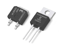 Littelfuse's LSIC2SD065CxxA and LSIC2SD065AxxA Series second-generation 650V, AEC-Q101-qualified silicon carbide (SiC) Schottky diodes