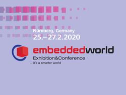 Embedded World happens on February 25-27, 2020 in Nuremberg,