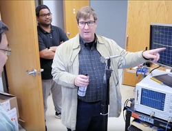 Researchers at Missouri University of Science and Technology are developing an airborne-biohazard system that could help screeners spot air travelers with lung diseases due to coronavirus and other viruses.