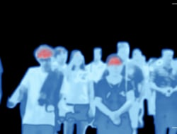 Thermal Infrared Camera crowd scanning