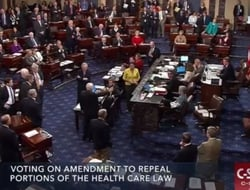 John McCain's vote on skinny repeal bill