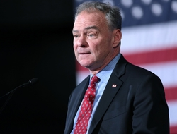 Tim Kaine speaking