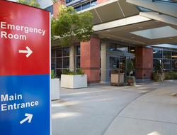 Hospital entance