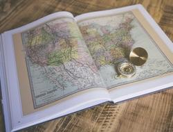 United States map atlas