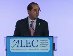 HHS Secretary Alex Azar at ALEC