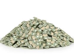 Pile of money