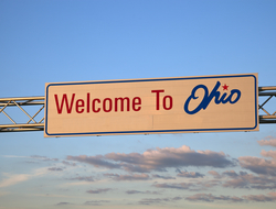"Sign that says ""welcome to Ohio"""