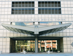 entrance of UCLA Medical Center