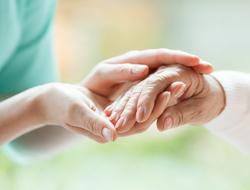 Caregiver end of life care nursing home palliative care
