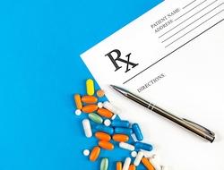 Drugs prescription pad