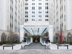 exterior shot of NewYork-Presbyterian/Weill Cornell Medical Center building in New York City