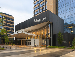 The outside of Optum's headquarters