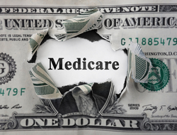Medicare spending costs money