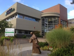 photo showing exterior of Providence St. Joseph Health hospital