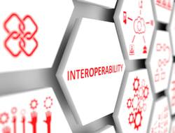 3D illustration of interoperability