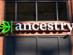 An image outside Ancestry.com's headquarters.