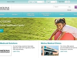 Molina Healthcare website